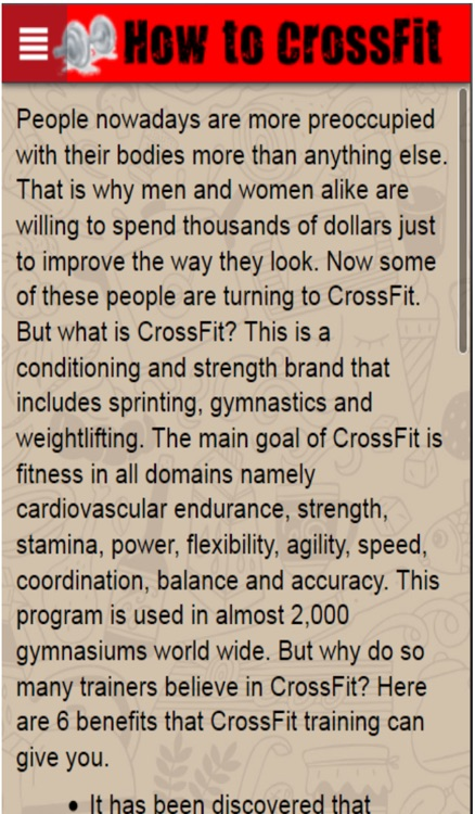 How to CrossFit+: Learn CrossFit Training The Easy Way screenshot-4