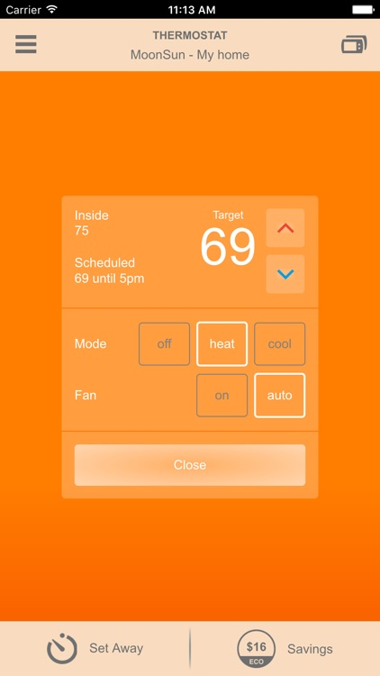 Smart Thermostat by NV Energy