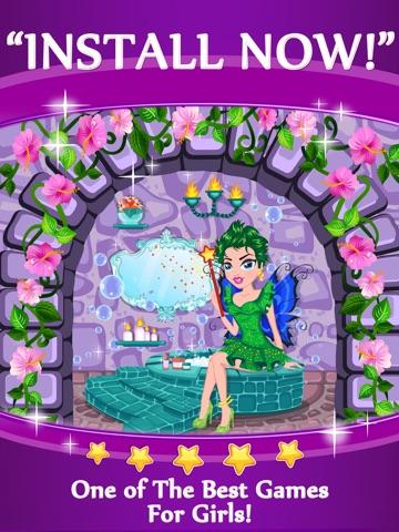 ... Screenshot #5 for Princess Fairy Mermaid Beauty Spa - Cute Fashion Cinderella Makeup And Dress ...