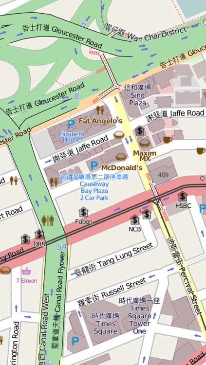 Hong Kong Map- Pocket Hong Kong Travel Guide with offline MTR Underground Metro Map, HK Hong Kong KMB Bus Tram Routes Map, Hong Kong Maps, Hong Kong Street map screenshot-2
