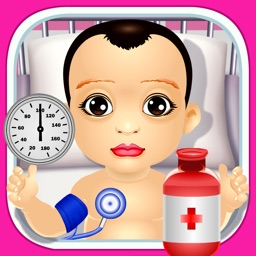 Baby Little Throat & Ear Doctor - play babies skin doctor's office games for kids