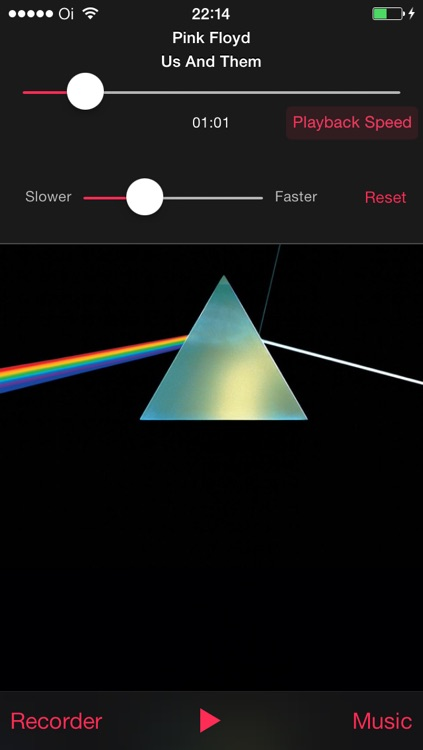 Reverse Music Player Pro - Play backwards