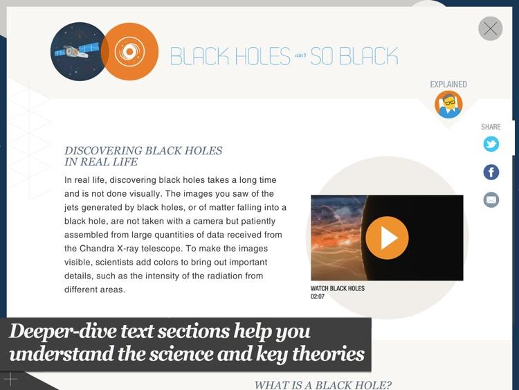 Stephen Hawking's Snapshots of the Universe screenshot-3