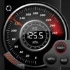 Speedo社のGPSのスピードトラッカー、車のスピードメーター、サイクルコンピューター、トリップコンピュータ、ルートトラッキング、HUD - iPhoneアプリ