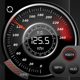 Speedo GPS Speed Tracker, Car Speedometer, Cycle Computer, Trip Computer, Route Tracking, HUD