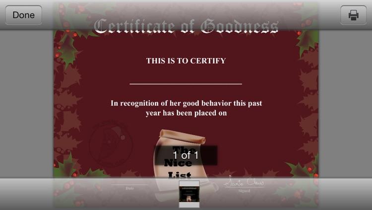 CertificateCreator.com Christmas Edition screenshot-3