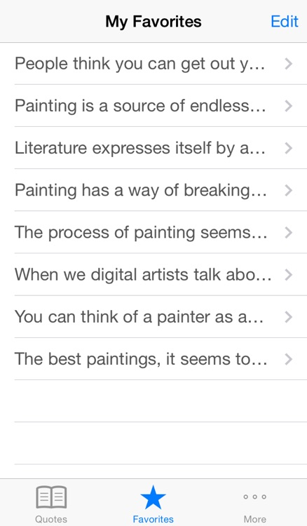 Painting Inspiration - Motivational quotes to flow your art  creativity screenshot-3