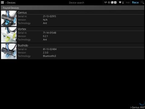 Tacx Cycling app screenshot two