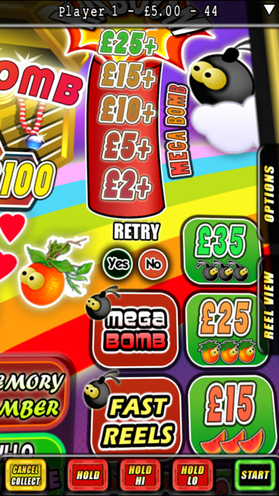 Download iFruitBomb - The Fruit Machine Simulator for Android