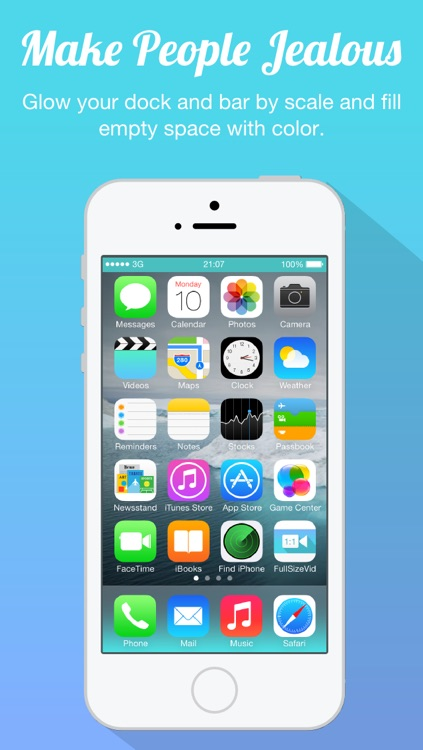 Full Size Wallpaper - Wallpaper Editor to Fix Resize Rotate or Scale Your Photo Picture and Image for iOS 7