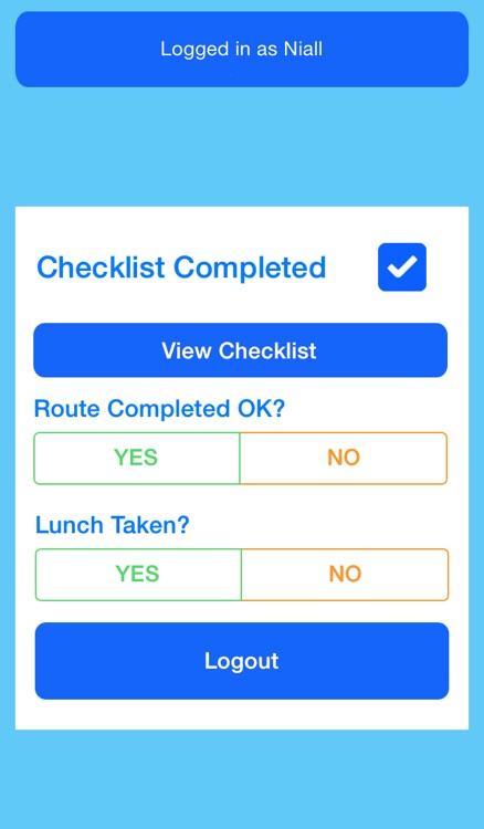 RSA Checklist