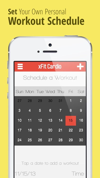 xFit Cardio Pro – High Intensity Customized Fat Burning Workout for a Sexy Body and Healthy Heart screenshot-3