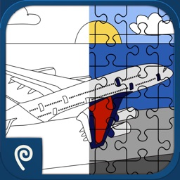 Color It Puzzle It: Planes Lite