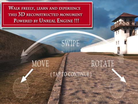 ローマンアーミー最も野心的な要塞。ハドリアヌスの長城 - ブラックカートタレットのバーチャル3Dツアー&トラベルガイド(Liteバージョン)のおすすめ画像2