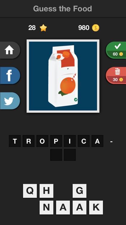 Icontrivia : Guess the Food screenshot-4