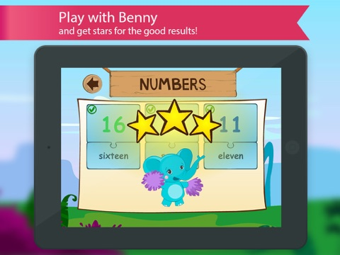english for kids with benny learning english language by flashcards colors and numbers