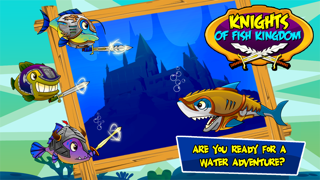 Knight of Fish Kingdom Battle Rage  - Newest Games Of Fishies War for kids screenshot one