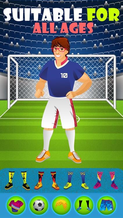 World Football Stars - Free Dress Up Game screenshot-4