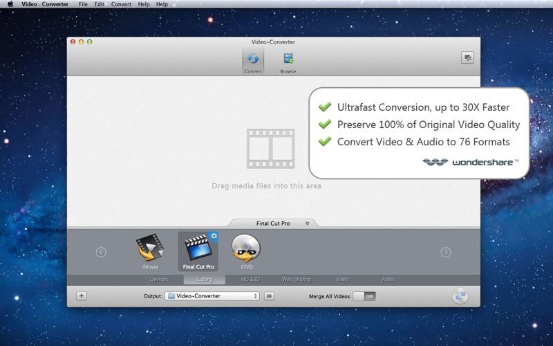 Video-Converter скриншот программы 1