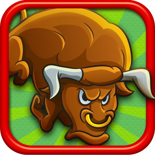 Papa Bull Stampede them All Mad Run FREE icon