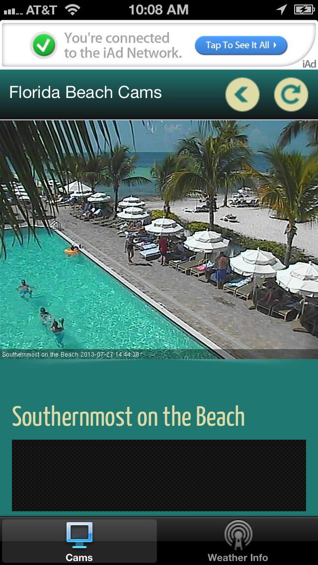 Florida Beach Cams screenshot one