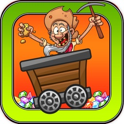 Mine Shaft Madness Game - The Gold Rush California Miner Games