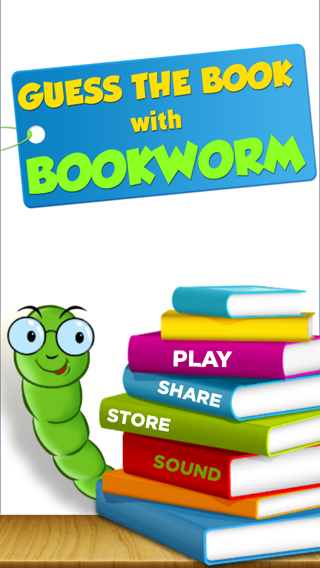Guess the Books with Bookworm - What's the book Title ? Screenshot on iOS