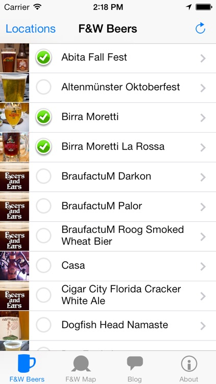 Beers and Ears Epcot International Food and Wine Festival Beer List