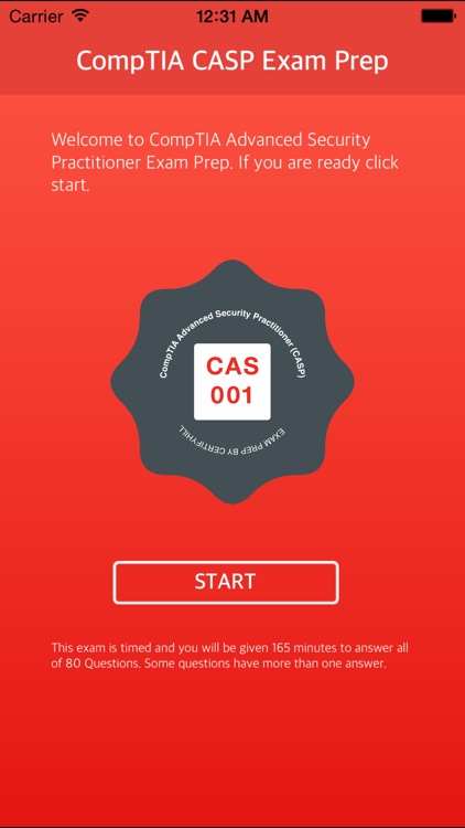 CAS-001 - CompTIA Advanced Security Practitioner (CASP) Certification - Exam Prep