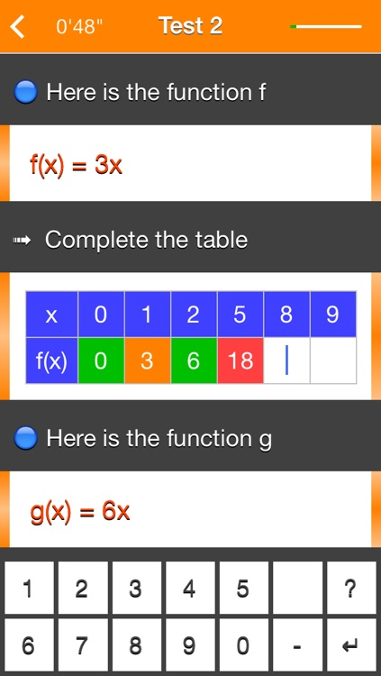 Functions f(x) = ax screenshot-3