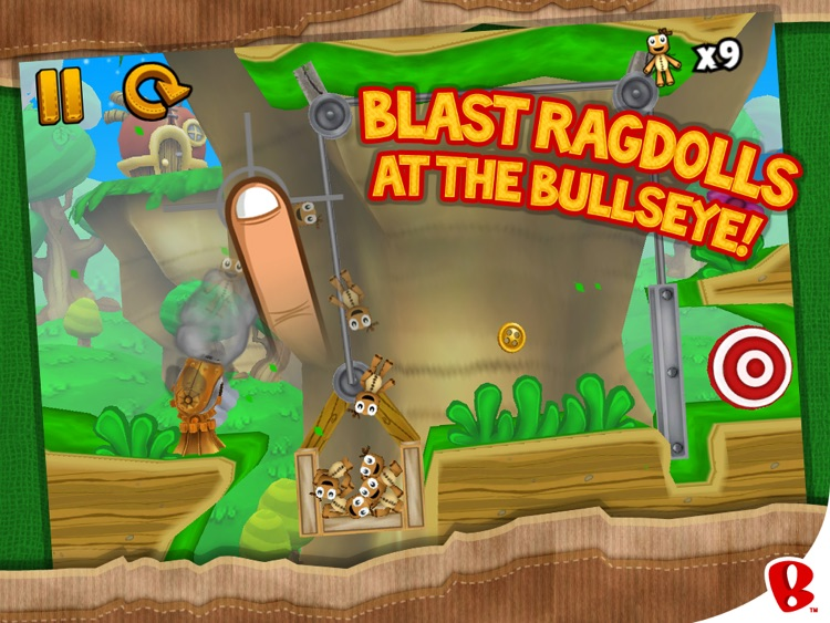 Ragdoll Blaster 3 HD screenshot-1