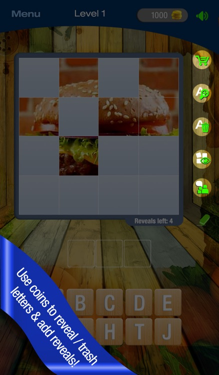 Guess It! Pic Food – Free Trivia Word Scramble Quiz Game. Have fun guessing what's the food photo but don't give up, solve words with family and friends help! screenshot-4