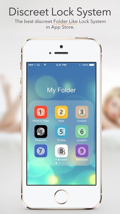 Secret Folder Icon - Private Folder Manager Vault