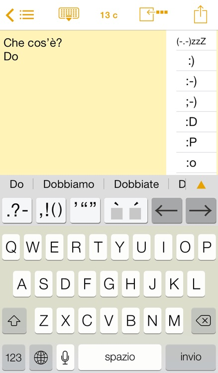 Easy Mailer Italian Keyboard
