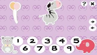 123計數嬰兒及兒童遊戲是免費的:有趣的玩與學數學的應用軟件!我的寶寶第一個號碼 - S&小動物屏幕截圖5
