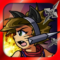 Catgirl Shinobi Free: A New Ninja Run and Jump Adventure Game