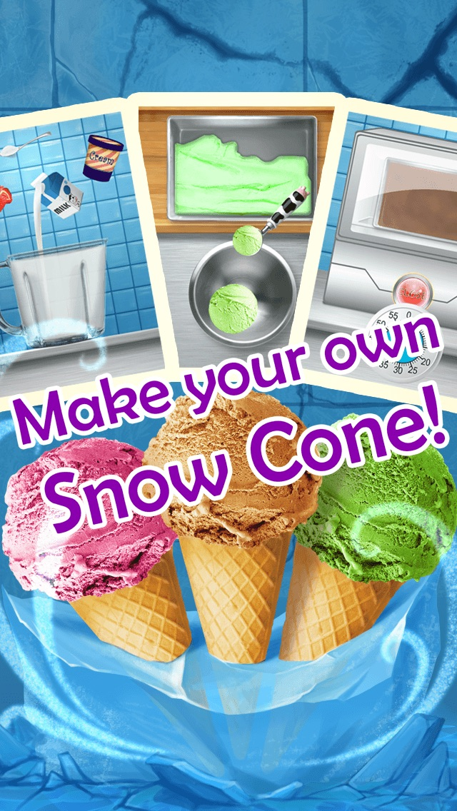 Ice cream maker kids cooking games app price drops screenshot 6 for ice cream maker kids cooking games ccuart Image collections