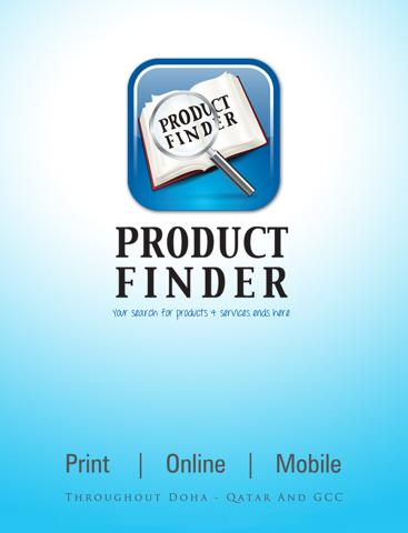 Qatar Product Finder  - Tablet screenshot 1
