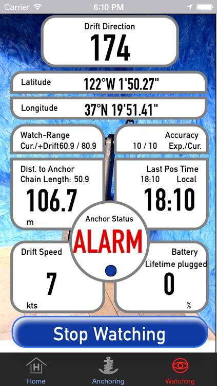 AnchorWatch Pro screenshot-3