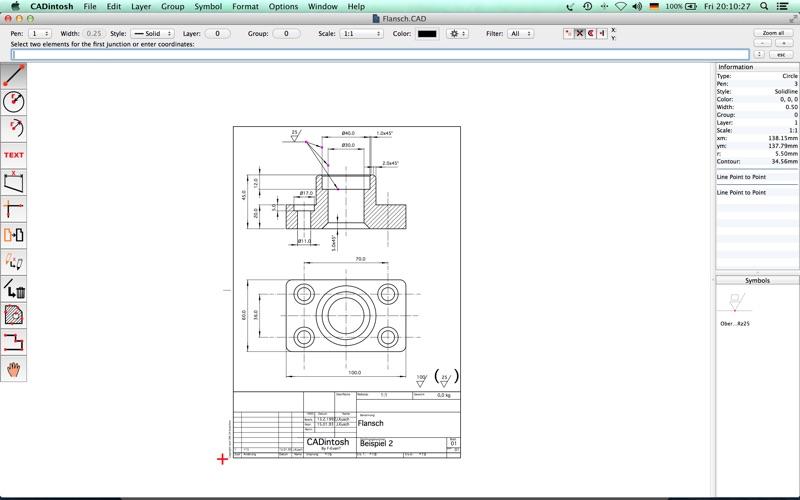 CADintosh X Screenshots