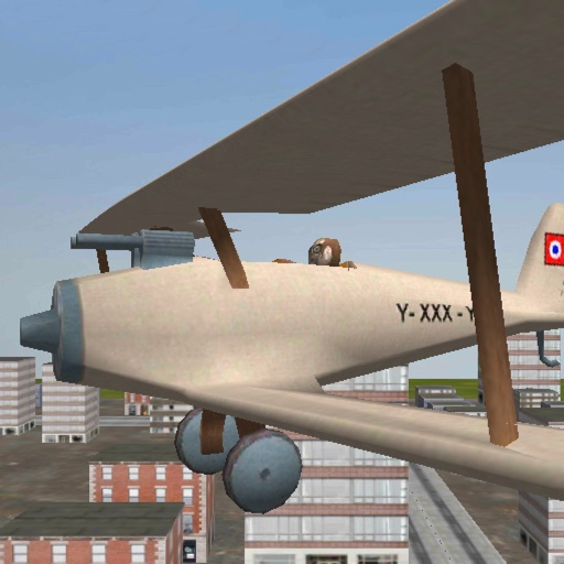 Airplane pilot 3D - flight simulator