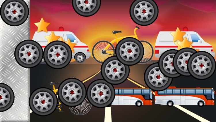Vehicles Games for Toddlers and Kids : Cars, Trucks and Tractors ! screenshot-3