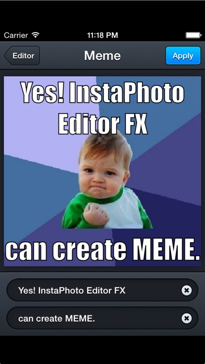 InstaPhoto FX - ALL-IN-1 Photo Editor with Filters, PicFrame & Fix Redeye to Share Images via Facebook, Snapchat and Twitter screenshot-4