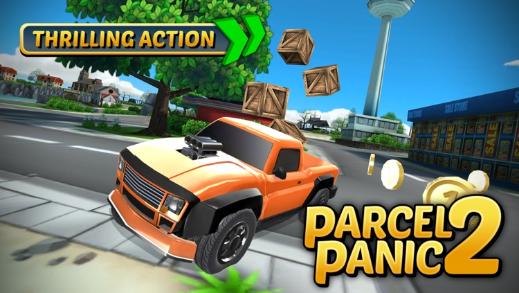 Parcel Panic 2 - Post Car Racing
