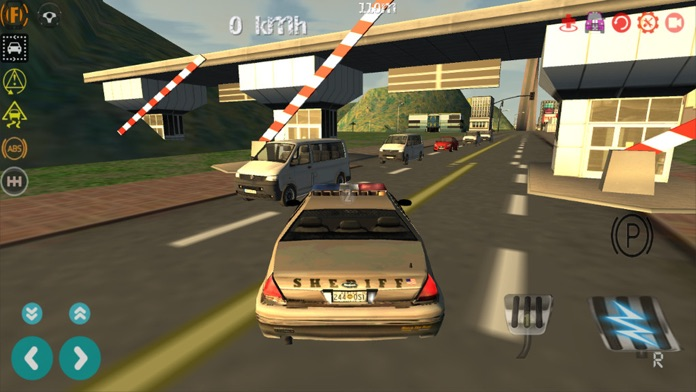 Police Car Driving Simulator - 3D Cop Cars Speed Racing Driver Game FREE Screenshot