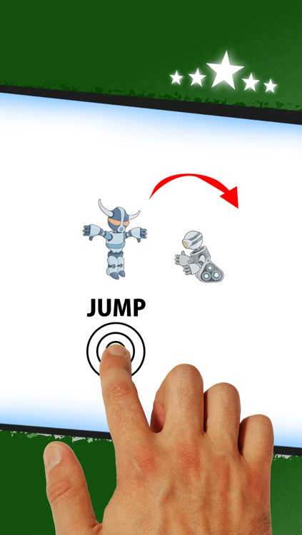 Army of War Robots - Free Jump and Run Game
