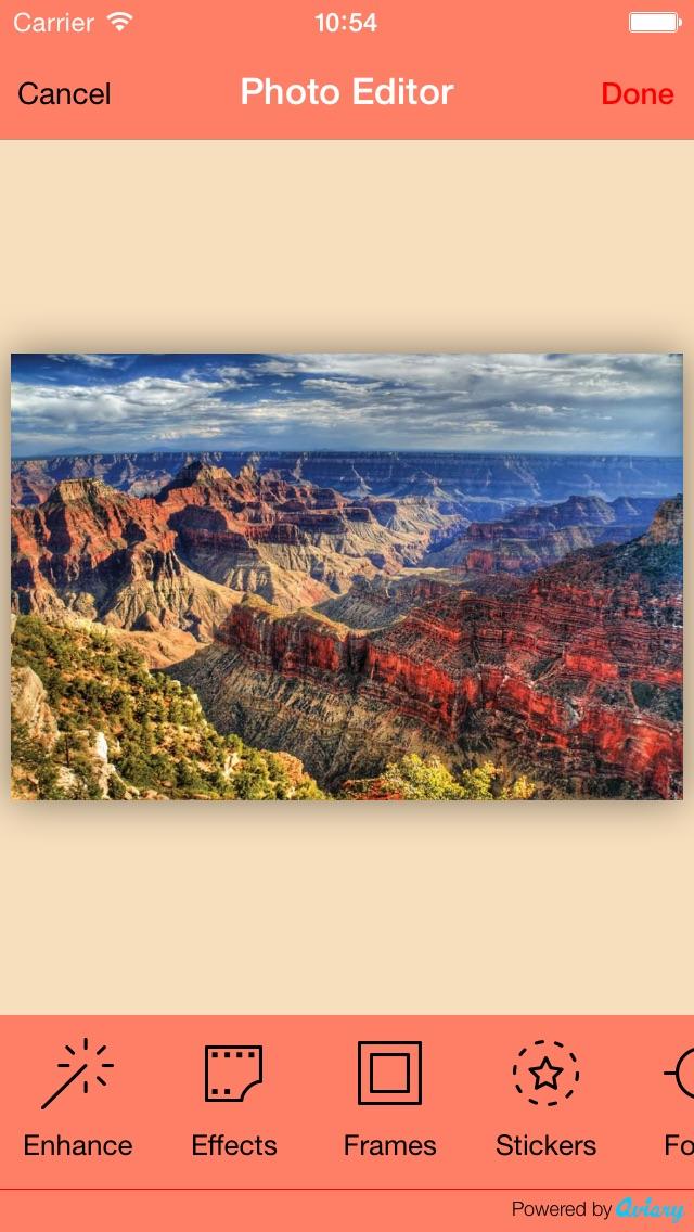 PhotoShockScreenshot von 2