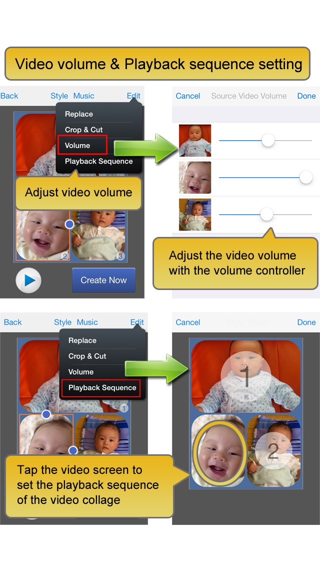 Screenshot #9 for Video Album - Frame Video, Join Video, Crop Video, Rotate Video