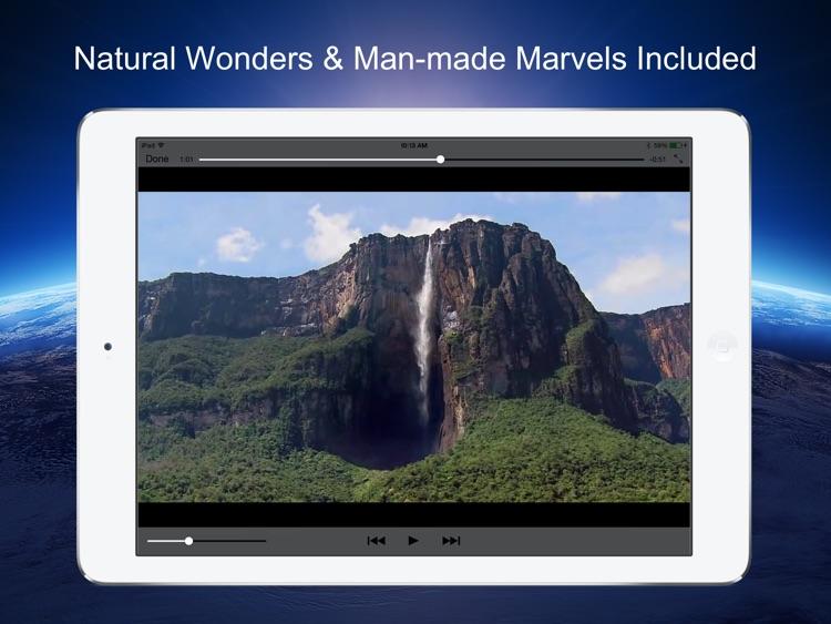 Earth 3D - 501 Wonders of the World screenshot-3