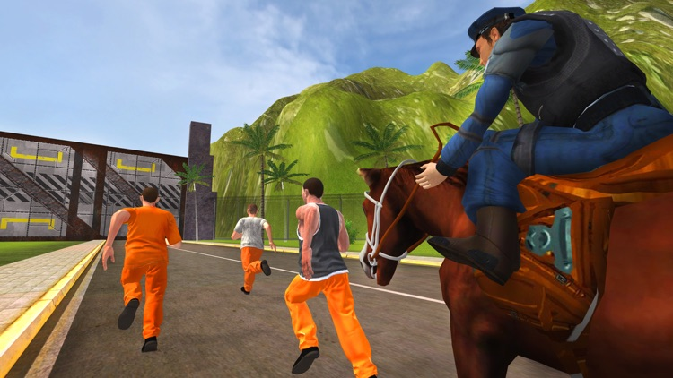 Prisoner Escape Police Horse - Chase & Clean The City of Crime From Robbers & Criminals screenshot-4